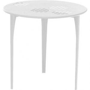 Runder Tisch Muster Ø 80 cm Weiß Emu Arik Levy 1