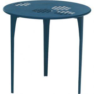 Round table Pattern Ø 80 cm blue Blue Emu Arik Levy 1