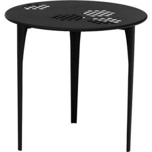 Round table Pattern Ø 80 cm Black Emu Arik Levy 1