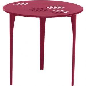 Round table Pattern 80 cm Ø Red Emu Arik Levy 1