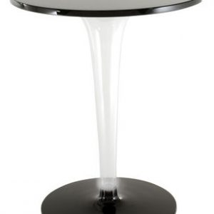 Round table Top Top - Dr. YES Ø cm Black Kartell Philippe Starck 70 1