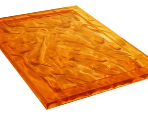 Dune tray - 46 32 cm x Orange Kartell Mario Bellini 1