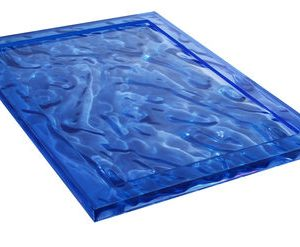 Vassoio Dune - 46 x 32 cm Blu Kartell Mario Bellini 1