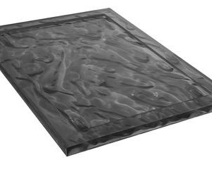 Dune Fach - 55 38 cm x Fumé Kartell Mario Bellini 1