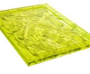 bandeja de Duna - 55 38 cm x amarillo Kartell Mario Bellini 1