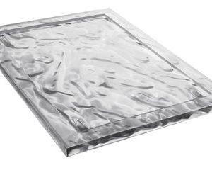 Dune tray - 55 38 cm x Transparent Kartell Mario Bellini 1