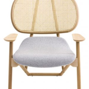 Klara sillón blanco | madera ligera Moroso Patricia Urquiola 1