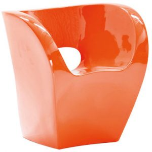 Sessel Little Albert Orange lackiert Moroso Ron Arad 1