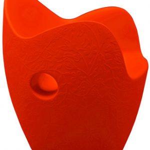 Sillón O-Red Nest naranja Moroso Tord Boontje 1