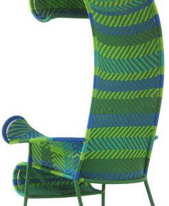 Poltrona Shadowy Blu|Verde Moroso Tord Boontje 1