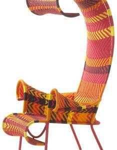 silla de sombra amarilla | Rojo | naranja | Marrón Moroso Tord Boontje 1