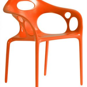 Supernatural Stuhl Moroso Ross Lovegrove orange 1