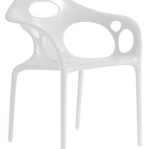 Poltrona Supernatural Bianco Moroso Ross Lovegrove 1