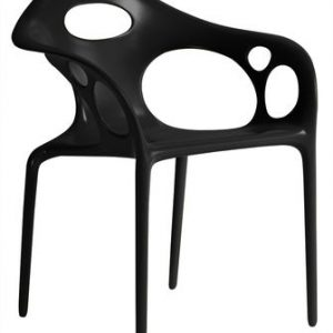 Supernatural chair Moroso Ross Lovegrove Black 1