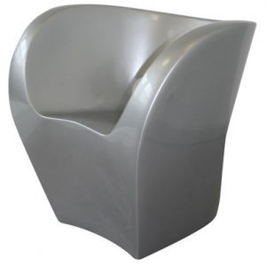 The Big Easy armchair Silver lacquered Moroso Ron Arad 1