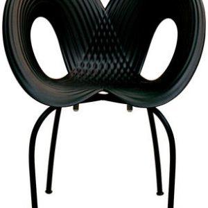 Negro Silla Ripple Moroso Ron Arad 1