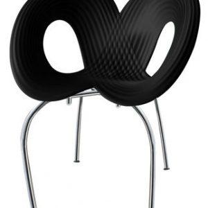 Silla Ripple Negro | Chrome Moroso Ron Arad 1