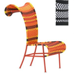 Black Moroso Tord Boontje's Shadowy 1 White Chair |