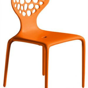 Silla anaranjada Supernatural Moroso Ross Lovegrove 1