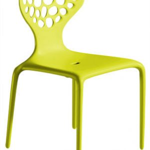 Silla Supernatural Moroso Ross Lovegrove verde 1