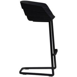 High Stool Rift H 65 cm Black Moroso Patricia Urquiola 1