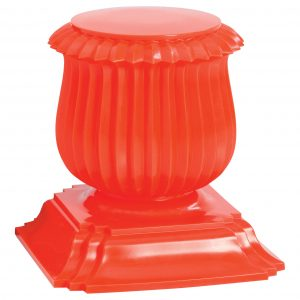 Low stool Orange Capitello Moroso Rajiv Saini 1