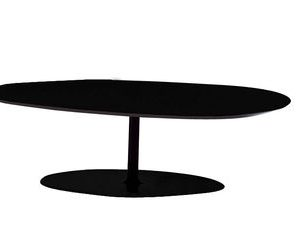 Phoenix small table T-H 33 cm Black Moroso Patricia Urquiola 1
