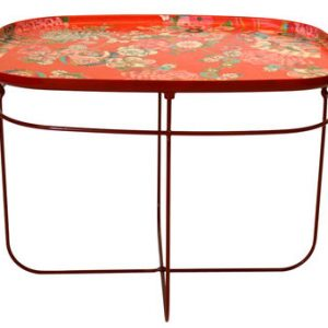 Tavolino T-Ukiyo rettangolare Arancione Moroso Tomita Kazuhiko 1