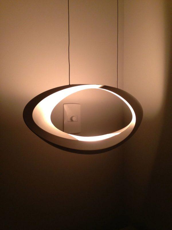 hanging lamp White CABILDO ARTEMIDE Eric Solè 2