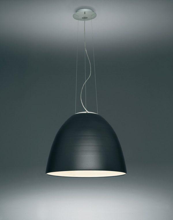lámpara colgante NUR gris antracita Artemis Ernesto Gismondi 2