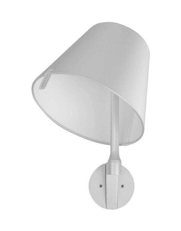 Wall lamp MELAMPO Grey ARTEMIDE Adrien Gardère 2