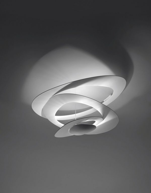 Lámpara de techo PIRCE mini blanco ARTEMIDE de José Mauricio Scutella 3