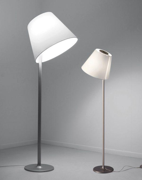 Melampo lámpara de pie gris ARTEMIDE Adrien Gardère 2
