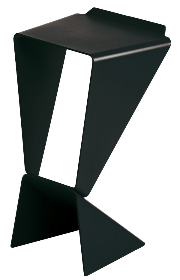 hohe Hocker Icon Black B-LINE Matthias Demacker