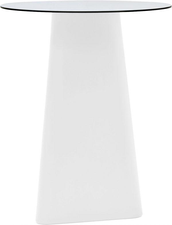 Mesa alta Ø Adam 80 cm Blanco B-LINE Matteo Redaelli | Andrea Garuti | Manuela Busetti