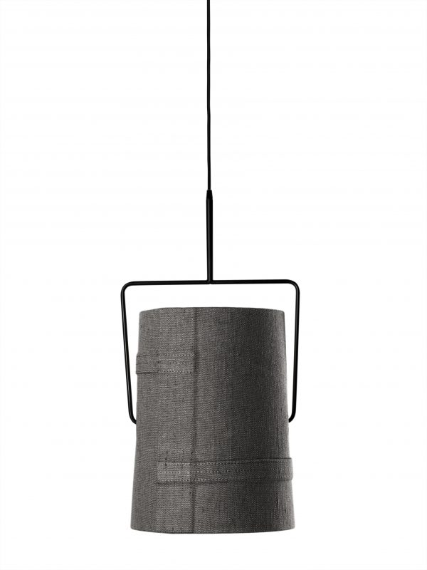 Hanging lamp Fork largest Gray Diesel with Foscarini Diesel Creative Team 1