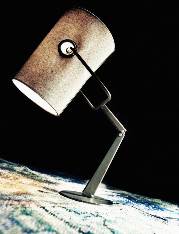 Lámpara de mesa Tenedor Marrón | Marfil Diesel con Foscarini Diesel equipo creativo 2