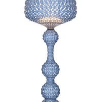 Kabuki Floor Lamp Light Blue Kartell Ferruccio Laviani 1