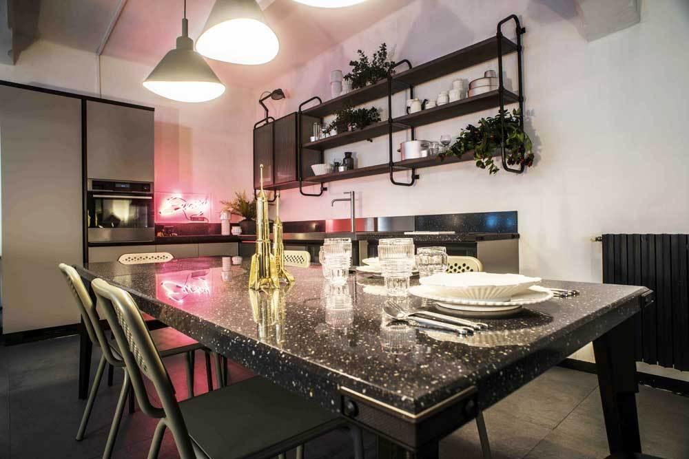 Diesel industrial style kitchen