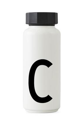 Arne Jacobsen isothermal boutèy - 500 ml - Lèt C Lèt Design White Arne Jacobsen