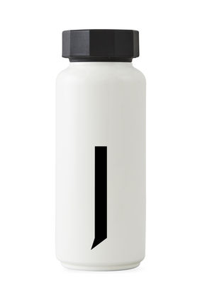 Arne Jacobsen isothermal bottle - 500 ml - Letter J White Design Letters Arne Jacobsen