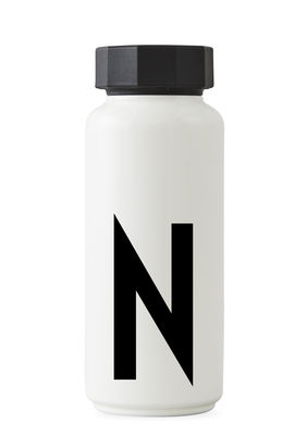 Bouteille isotherme Arne Jacobsen - 500 ml - Lettres Design Lettres blanches Arne Jacobsen