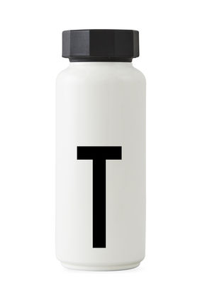 Flacon isotherme Arne Jacobsen - 500 ml - Lettres Design Lettres blanches Arne Jacobsen