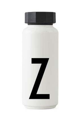 Arne Jacobsen isothermal bottle - 500 ml - Letter Z White Design Letters Arne Jacobsen