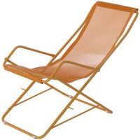 Chaise longue folding Bahama Orange | Mustard Emu Research Centre Emu 1
