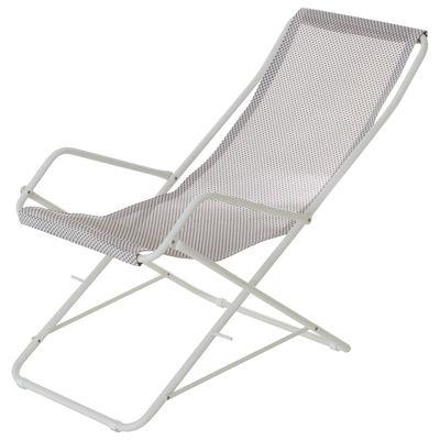 Chaise longue folding Bahama White | Cream Emu Research Centre Emu 1