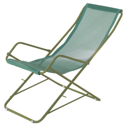 Chaise longue folding Bahama Green | Turquoise Emu Research Centre Emu 1
