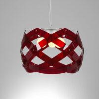 Nuclea maxi pendant lamp Rosso Emporium Roberto Giacomucci