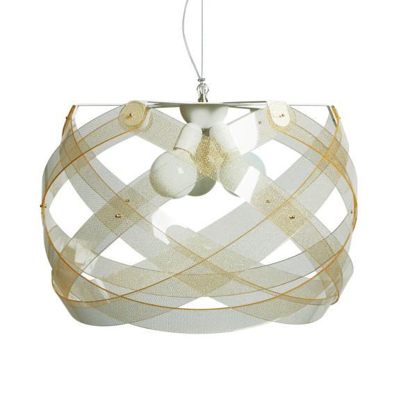 Lámpara colgante Nuclea maxi Texture Gold Emporium Roberto Giacomucci