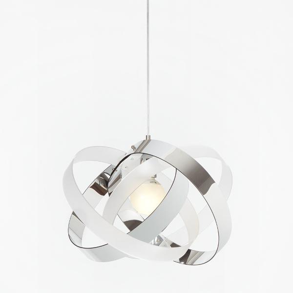 Nuvola SP lampe à suspension Blanc satiné | Cromolite Emporium Roberto Giacomucci